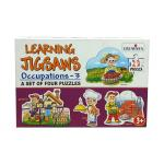 Learning Jigsaws Occupation - 3