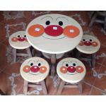 ส่งฟรี ลายอันปัง รุ่นไม่มีพนักพิง โต๊ะ ขนาด 18*20 นิ้ว จำนวน 1 ตัว เก้าอี้ ขนาด 10*10 นิ้ว จำนวน 4 ตัว ผลิตจากไม้จามจุรี รับน้ำหนักได้ถึง 70 ก สำเนา