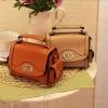 [พร้อมส่ง]กระเป๋า Axixi รหัส AX0009 กระเป๋าแฟชั่นเกาหลี (สีส้ม)
