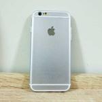 เคสไอโฟน 6+/6S+ ลาย 6s สีเงิน