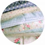 APIL56Yuwa15 : ผ้าถุงแป้งขนาด 25 X 65 cm (1m = 8 จำนวนนะคะ)