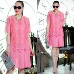มี2 สี Dress Chanel Lace Chiffon