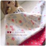 JUNE57Pack8 : ผ้าจัดเซต ผ้าถุงแป้ง Yuwa +ผ้าไทย1ชิ้น ขนาดผ้าแต่ละชิ้น 25-27 X 45-50 cm