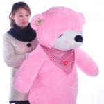 ตุ๊กตาหมีหลับ ตัวใหญ่ ขนาด 1.2 เมตร สีชมพู