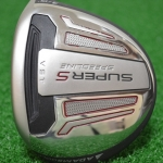 ADAMS SPEEDLINE SUPER S BLACK FAIRWAY 15* 3 WOOD STOCK GRAPHITE FLEX S