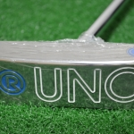 NEW RIFE UNO CENTER SHAFT BLADE PUTTER STERLING FINISH 34""