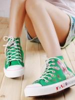 [Pre-oder]รองเท้าเพ้นท์มือ (รองเท้า Graffiti) สไตร์เกาหลี
