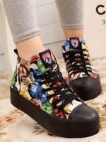 รองเท้าผ้าใบ แฟชั่นเกาหลี ไซล์ 35-39