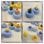 Rilakkuma cafe dessert contact lens case คละแบบ thumbnail 2