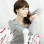 เสื้อผ้าแฟชั่นเกาหลีแต่งเป็นโบวฺ์ด้านหน้ามีปกด้านหลังออกแบบเก๋น่ารักเชียวค่ะมี2สี thumbnail 7