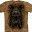 The Mountain Big Face Mastiff Dog T-shirts thumbnail 1