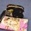 กระเป๋าสะพายแฟชั่นใบเล็กลายดอกไม้โทนสีดำ thumbnail 6